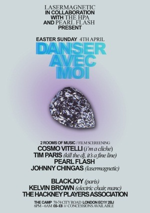 Sun 04/04 Tim Paris & Cosmo Vitelli @ The Camp, London