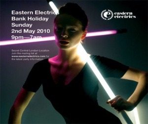Sun May 2nd : It's A Fine Line @ Eastern Electrics, London